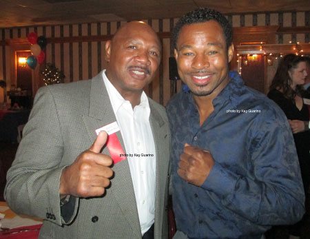 Marvelous with the  World Champion Boxer Sugar Shane Mosley