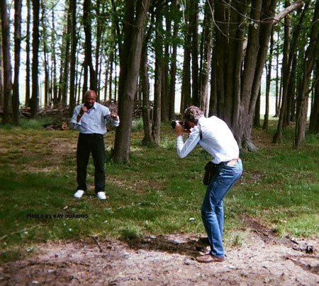 Photo shoot for French sports newspaper L'Equipe. Magazine article on Marvelous.